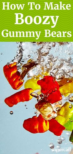 how to make gummy bears soaked vodka faster
