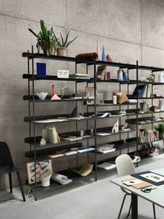 COMPILE - Modern Scandinavian Design Shelving System by Muuto - Muuto. Storage idea for my home office.
