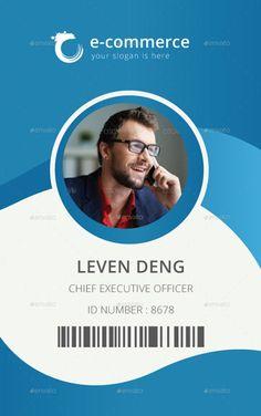 Id Card Design Template Best Of 15 Best Id Card Template Design In Psd and Ai Designyep Id Card Template, Business Plan Template, Card Templates, Certificate Templates, Design Templates, Vector Design, Identity Card Design, Name Card Design, Id Design