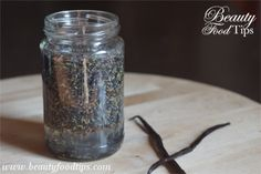Herbal infused oil: Organic Coconut Oil infused with Lavender and Vanilla Beans