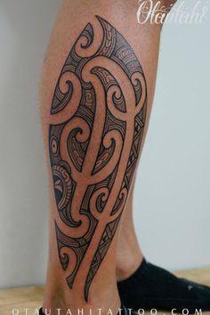 side-of-calf-maori-ta-moko-tamoko-kirituhi-new-zealand-newzealand-nz-tattoo-design
