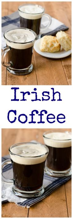 Irish Coffee with Bailey's Whipped Cream is hot, cool, bitter, and sweet: an all-around perfect drink.