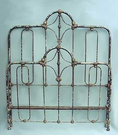 antique iron beds. IRON BEDS, The American Iron Bed Co, Authentic Antique Beds. Beautiful Headboard And Footboard! Beds