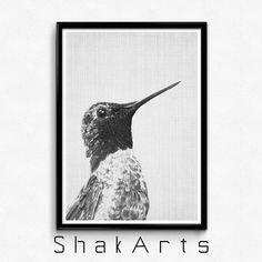 Bird Print bird print wall Wall Ideas Woodlands Decor by ShakArts