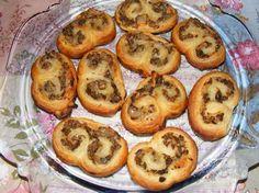 Mushroom Palmiers recipe