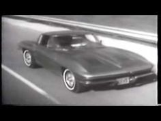 1963 Corvette commercial - CLASSIC! Corvette C2, Chevrolet Corvette, Vintage Cars, Retro Vintage, Corvette America, Vintage Videos, Car Advertising, Love Car, Vroom Vroom