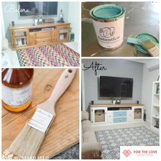 Another FAB #beforeandafter #chalkpaint #hempoil
