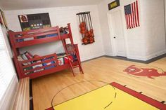 Basketball Bedroom Decorating Ideas   New Basketball Theme for Teen Bedrooms Design   Interior Decorating ...