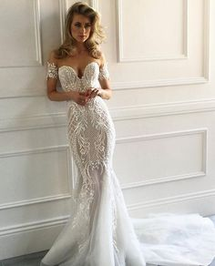 "The ""Merla"" gown, Pallas Couture La Verne collection"