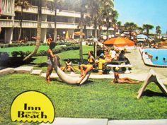 Daytona Beach Postcard Vintage Florida Hotel by LuckyPennyTrading