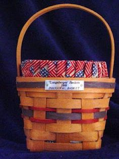 Longaberger Baskets (1980's -1990's highly collectible)