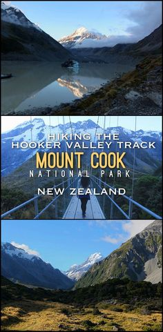 Hiking the Hooker Valley Track, Mount Cook National Park -- one of the best short hikes in New Zealand and something not to miss when travelling through the South Island.