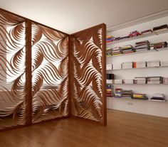 Paisley screen by  Luis Eslava for LZF