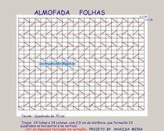 GRÁFICO DA ALMOFADA CAPITONÊ FOLHAS