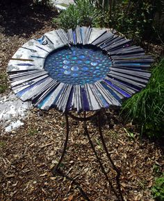 "https://flic.kr/p/9z2yzt | ""Splash"": sculptural bird bath 