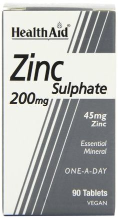 HealthAid Zinc Sulphate 200mg - 90 Tablets has been published at http://www.discounted-vitamins-minerals-supplements.info/2012/03/01/healthaid-zinc-sulphate-200mg-90-tablets/
