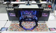 LEGO Lady Gaga Bricks Cascade 2013