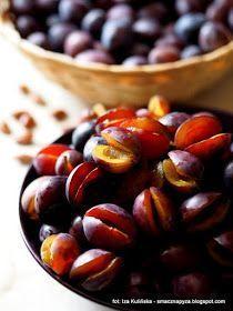 najlepsze-sliwki-w-occie Preserves, Beans, Food And Drink, Canning, Fruit, Vegetables, Recipes, Kitchens, Preserve