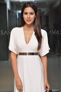 Tamil Actress Sonam Bajwa Hot White Angel PhotoShoot Stills | bollytos
