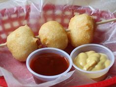 Fried Mashed potatoes, how can you go wrong with this combination?