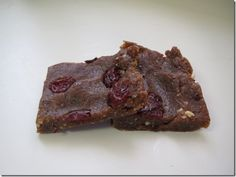 Healthy peanut butter and jelly bars
