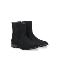 Clay Black Suede ankle-boots large