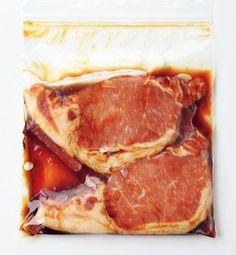 下味をつけるだけで使いやすく! 豚肉&ひき肉はこう冷凍する 画像(1/7) 豚ロースしょうが焼き用は甘辛味に