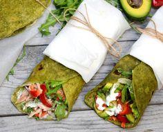 Slovenské lokše sa robia zo zemiakov a múky. Vymeň zemiaky za špenát a z cestu urob tortillu. Naplň ju napríklad zeleninou. Táto špenátová tortilla bude dokonalá na obed, desiatu aj olovrant. Ideálne zdravé jedlo so sebou. New Recipes, Healthy Recipes, Good Food, Yummy Food, Aesthetic Food, Food Inspiration, Food And Drink, Appetizers, Tasty