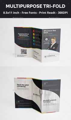 Business card template in corel draw format for free download and tri fold brochure multipurpose reheart Choice Image