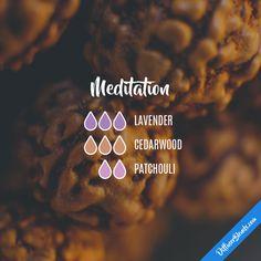 Meditation - Essential Oil Diffuser Blend