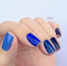 essie - mezmerised essie - style cartel essie - no more film lackfein: Blau Blau Blau sind alle meine Nägel