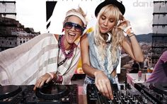 Cool story of two female DJs trying to make it in a male-dominated scene