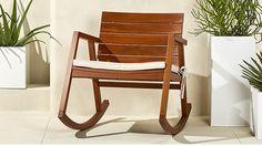 valalta rocking chair with cushion | CB2