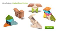 Tegu Blocks - I want these more than my kids