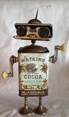 Found object assemblage robot