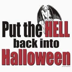 Help me get the HELL back into Halloween