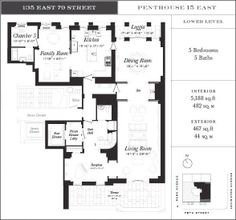 135 East 79th Street penthouse 15 east lower level