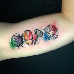 ärmeltätowierungen mann - Icône de tatouage Avengers The Effective Pictures We Offer You About diy projects A quality pictu - Thor Tattoo, Avengers Tattoo, Comic Tattoo, Marvel Tattoos, Ironman Tattoo, Spiderman Tattoo, Tattoo Arm, Bild Tattoos, Body Art Tattoos