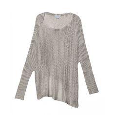 Helmut LangSheer Asymetric Sweater