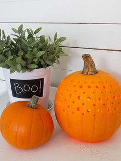 #Halloween decorating:  fretwork pumpkin
