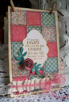 Birthday Quilt-F4A84 by stampingout - Cards and Paper Crafts at Splitcoaststampers