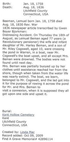 Lemuel Beeman