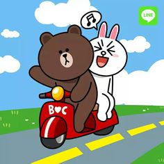 Cute Drawings Of Love, Naughty Emoji, Cony Brown, Cute Couple Cartoon, Cute Love Gif, Bunny And Bear, Friends Wallpaper, Jack And Sally, Line Friends