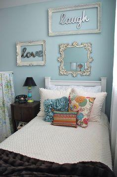 Cool idea - Teenage girls bedroom designs for small bedrooms   Decorative Bedroom #smallbedroomdesigns