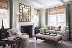 Living Room   Living  Architectural Details  TraditionalNeoclassical by Alexa Hampton