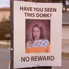 Have you seen this Dork?
