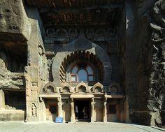 Entrance of cave no. 9.