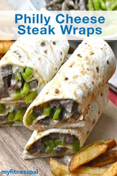 This cheese steak recipe from @maebellsa delivers a delicious serving of lean protein and flavorful veggies.