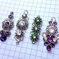 The latest order has just been completed and is going to be sent today! Third Eye Piercing, Tribal Dress, Bindi, Jewelery, Glow, Dots, Brooch, Fancy, Etsy Shop