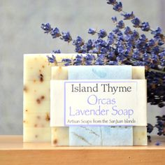 Orcas Lavender Soap – Island Thyme